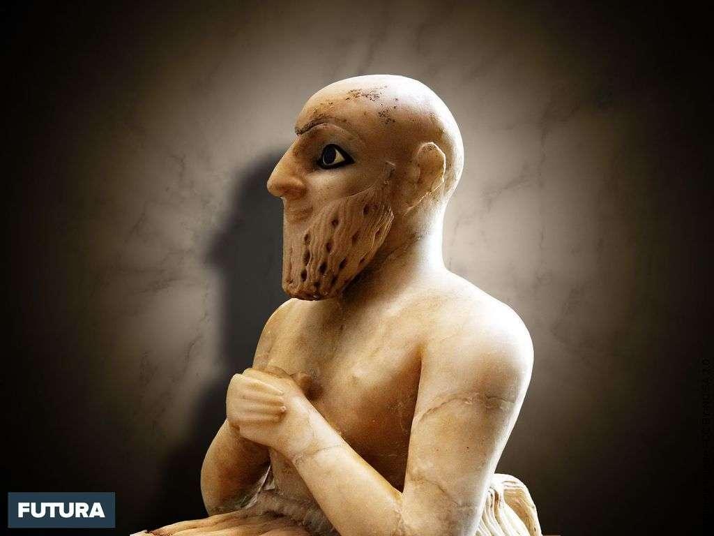 Ebih-Il dignitaire du royaume de Mari Mésopotamie