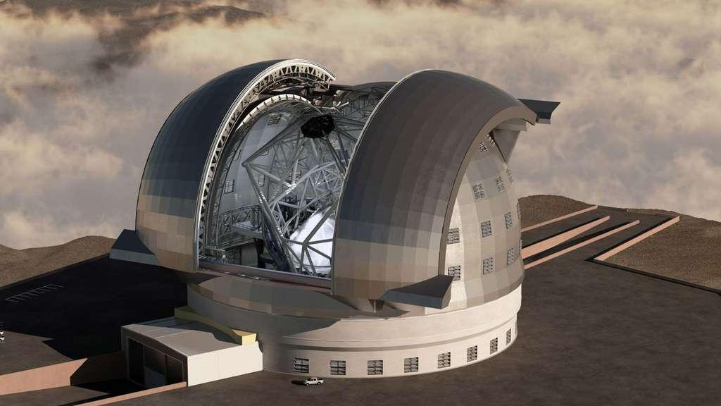 Le télescope E-ELT, un œil de géant tourné vers le ciel