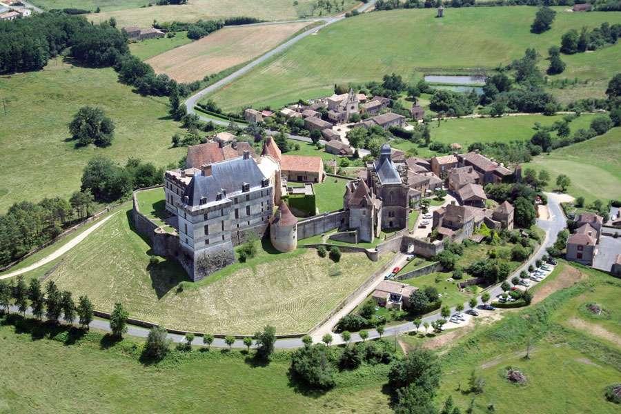 Le château de Biron, en Dordogne