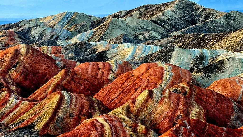 Zhangye Danxia : les montagnes arc-en-ciel