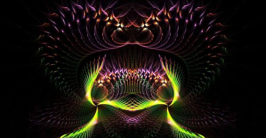 C'est en grande partie grâce à Benoît Mandelbrot que les fractales ont eu tant de succès. © YMF, DP