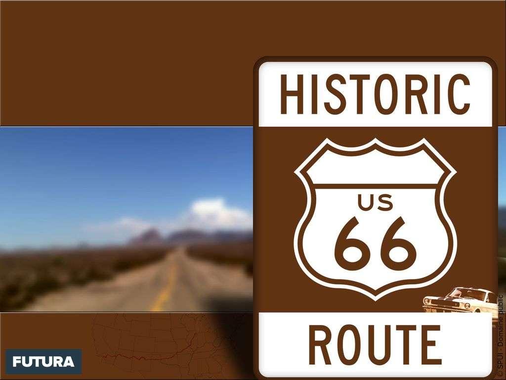 La mythique route 66 - États-Unis