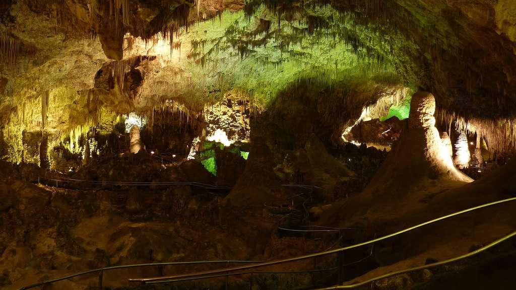 Les grottes de Carlsbad, au Nouveau Mexique