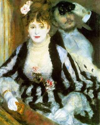 La loge - 1874 - Courtauld Institute Galleries