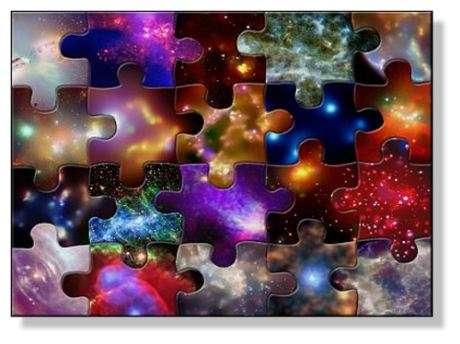 L'évolution de la matière dans l'Univers : un puzzle que les astronomes ont réussi à résoudre au XXe siècle en s'appuyant sur la mécanique quantique et la relativité générale. © NASA/CXC/SAO