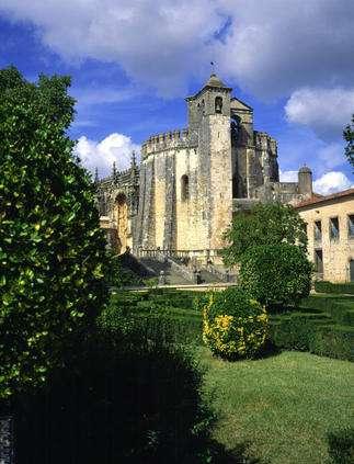 Chapelle du couvent de l'ordre du Christ, à Tomar. © Jose Manuel, DR