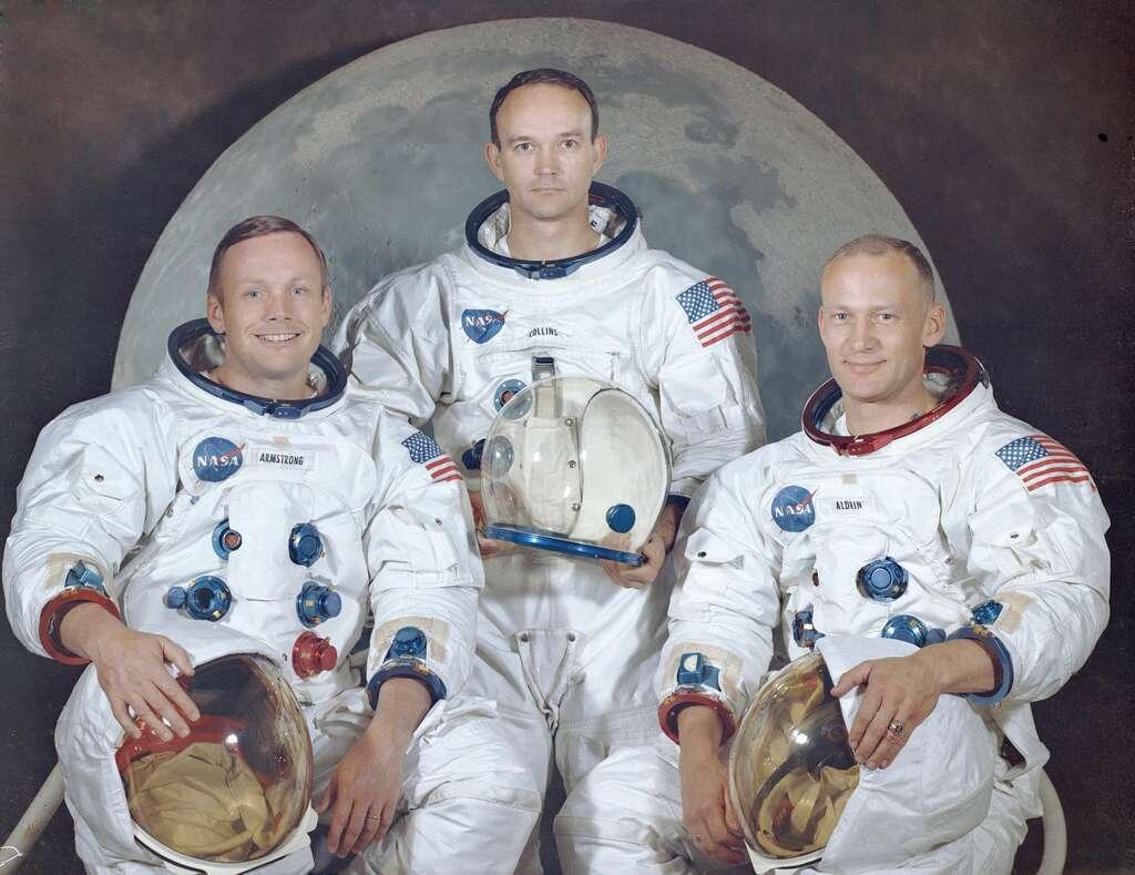 Apollo 11 : portrait officiel des astronautes de la mission
