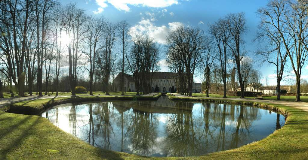 Abbaye de Royaumont. © BAUFLE Pascal, Wikimedia commons, DP