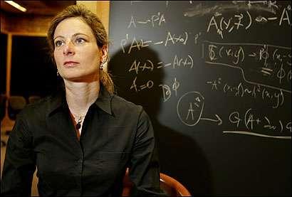 La physicienne Lisa Randall. © Matthew J. Lee