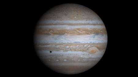 Cliquez pour agrandir. Une vue de Jupiter. Crédit : NASA/JPL/University of Arizona