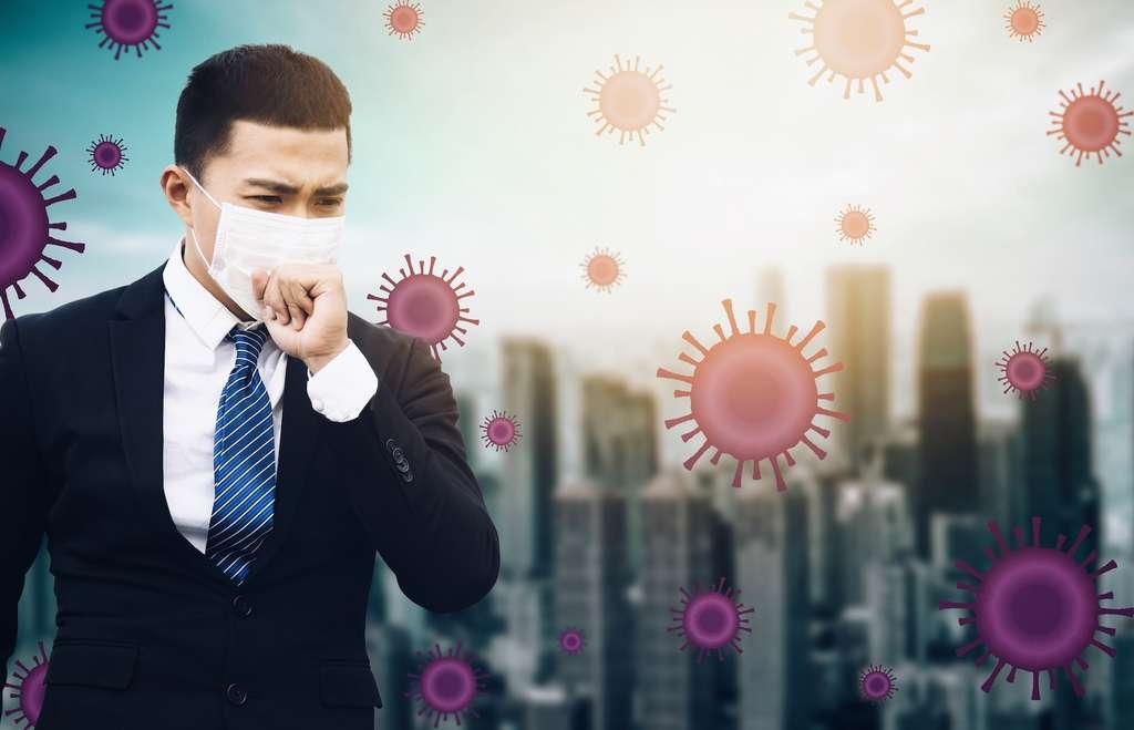 Les particules fines sont un vecteur de propagation de l'épidémie de Covid-19. © Tom Wang, Adobe Stock
