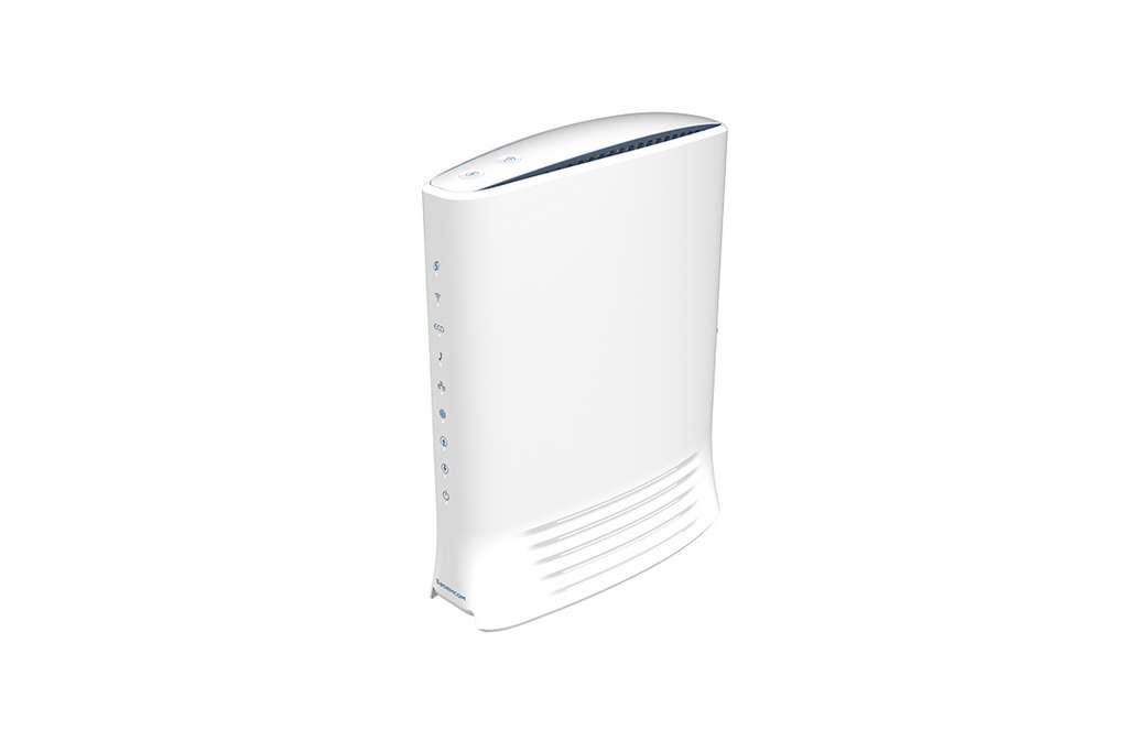 Le Fast 3890 fait partie des modems qui intègrent cette puce Broadcom. © Sagemcom