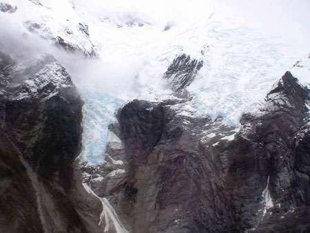 Glacier San Valentin Chili 2007 © Bernard Pouyaud - IRD