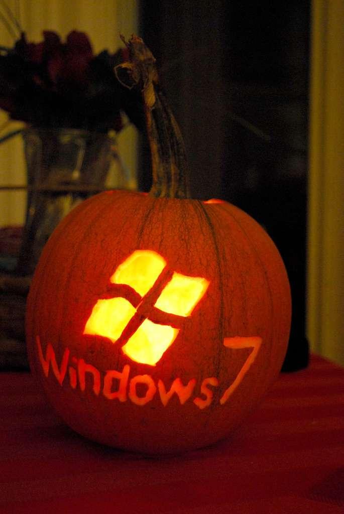 Une citrouille sous Windows ?