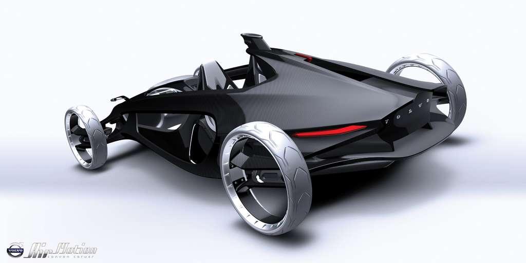 La Volvo Air Motion, présentée au Salon de Los Angeles 2010, avec son moteur à air comprimé. L'idée semblait futuriste. Mais d'autres l'ont adoptée. ©
