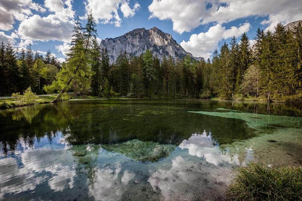 Un réservoir annexe du lac Vert