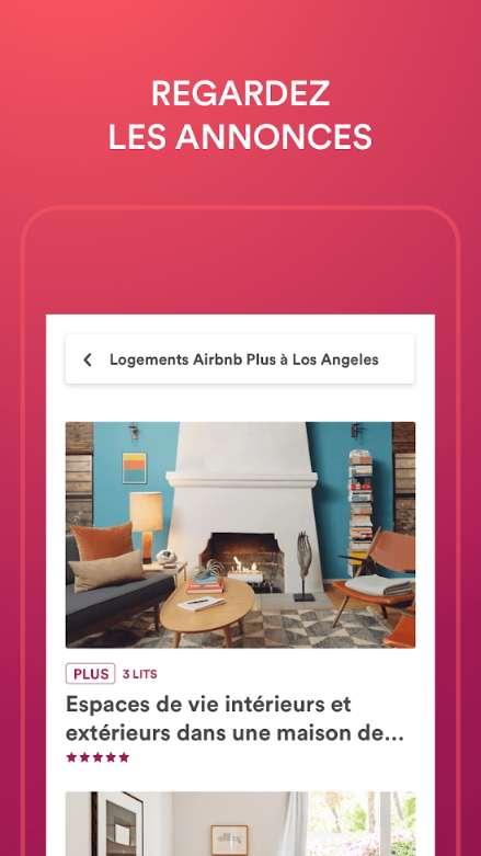 Airbnb met en contact des particuliers disposant d'un logement et des voyageurs. © Airbnb Inc.
