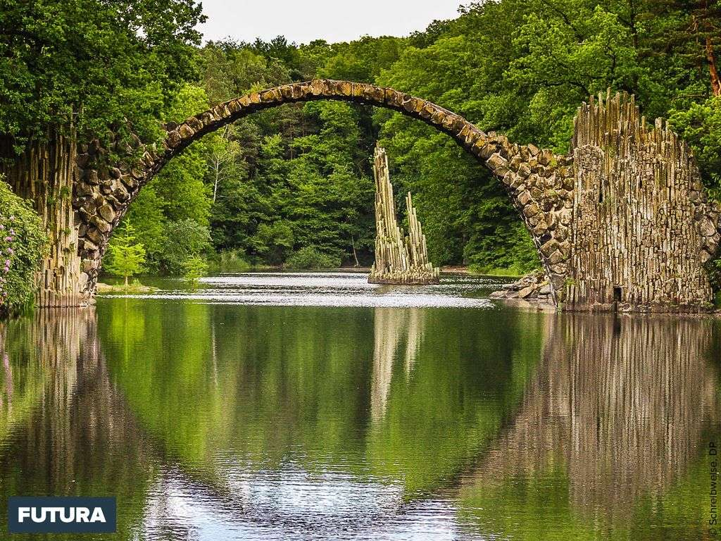 Le pont des amours un site naturel surprenant