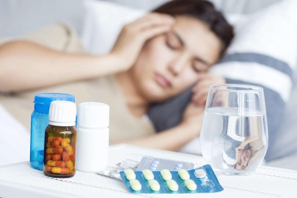 La migraine est l'un des symptômes neurologiques les plus fréquents chez les personnes hospitalisées pour la Covid-19. © sebra, Fotolia