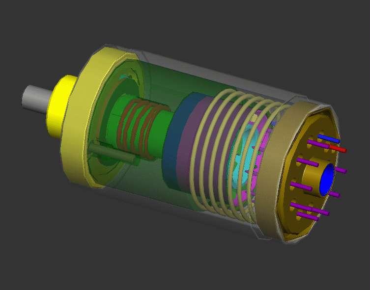 Schéma d'accéléromètre conçu aux Sandia National Laboratories. © US Government, DP