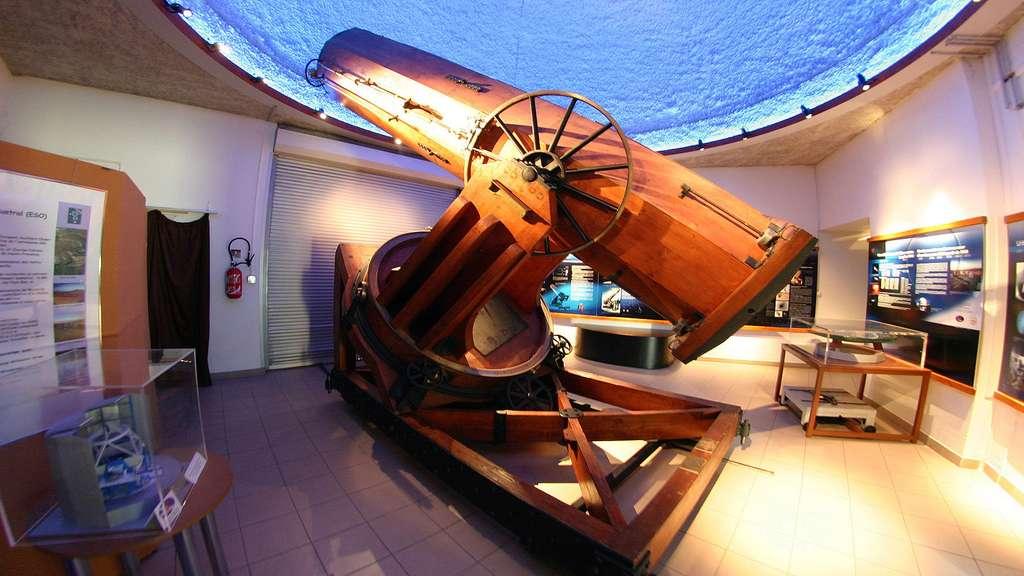 Télescope de Foucault à l'observatoire de Marseille