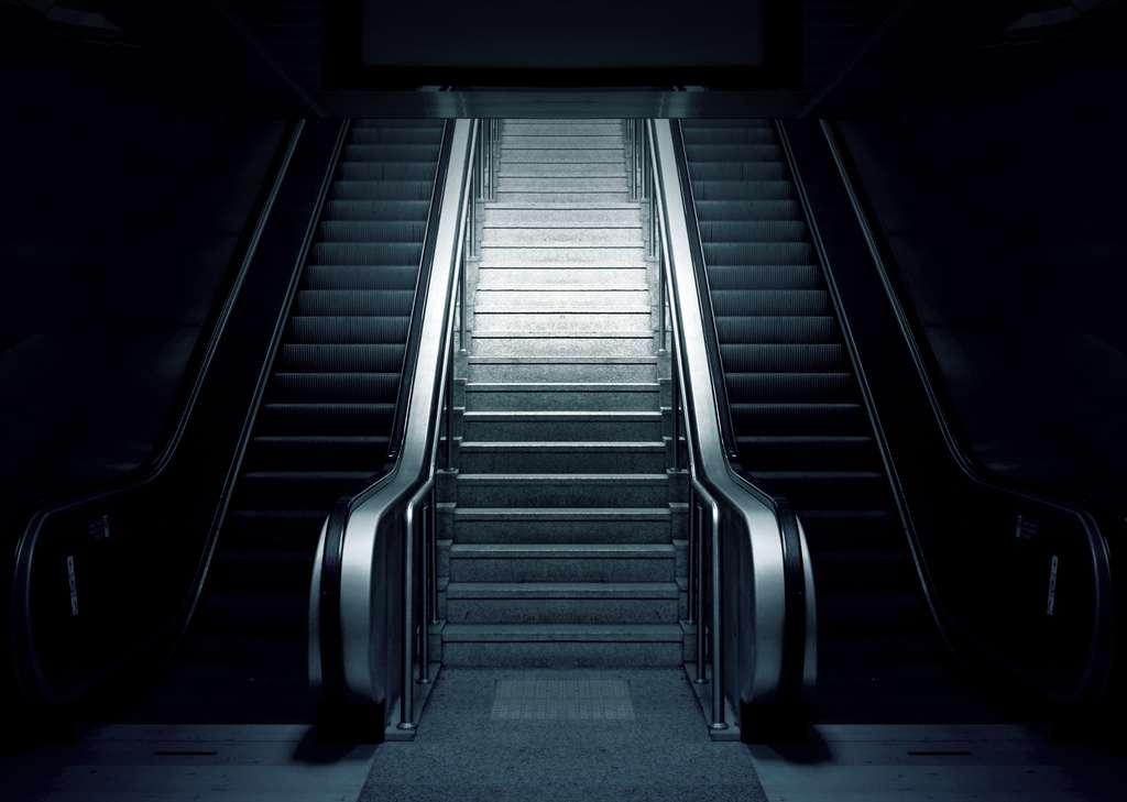 Choisir les escaliers serait une bonne méthode pour prendre le chemin d'une activité physique régulière. © Pixabay, Pexels
