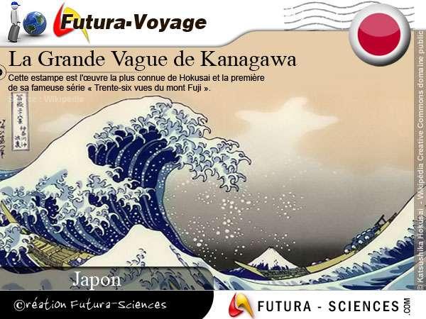 Grande vague de Kanagawa - Japon