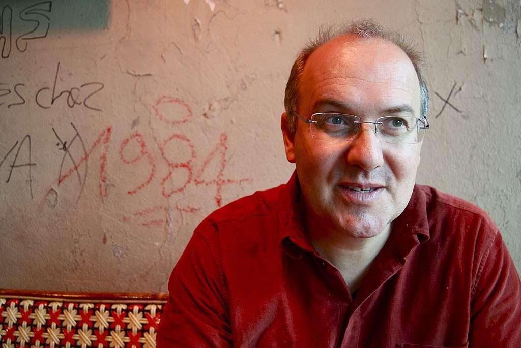 Alain Damasio. © Adrien Barbier, wikimedia commons, CC 3.0