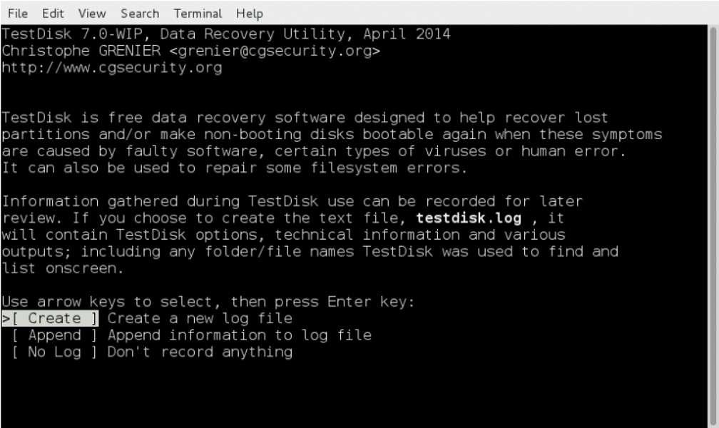 TestDisk & PhotoRec 7.0 est le logiciel gratuit le plus complet pour récupérer des données, mais il est plutôt destiné à un public expérimenté. © TestDisk