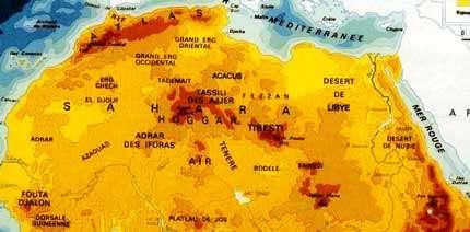 Grand Atlas du continent africain - Editions Jeune Afrique, 1973