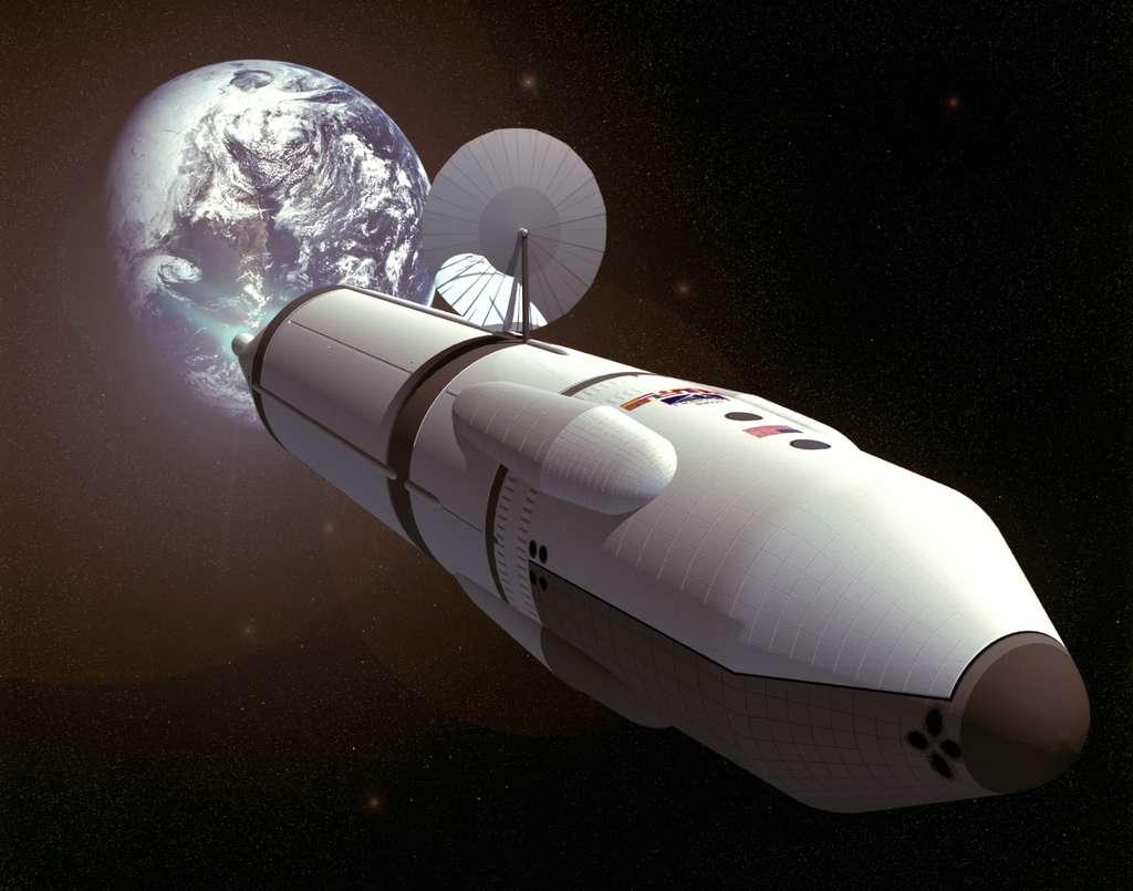 Les études faites sur la santé des astronautes montrent toutes qu'il y a un risque certain de les voir contracter des maladies de long terme ou de court terme lors de séjours prolongés dans l'espace. Cela dit, cela ne semble pas décourager les volontaires aux voyages spatiaux. © Nasa, Johnson Space Center