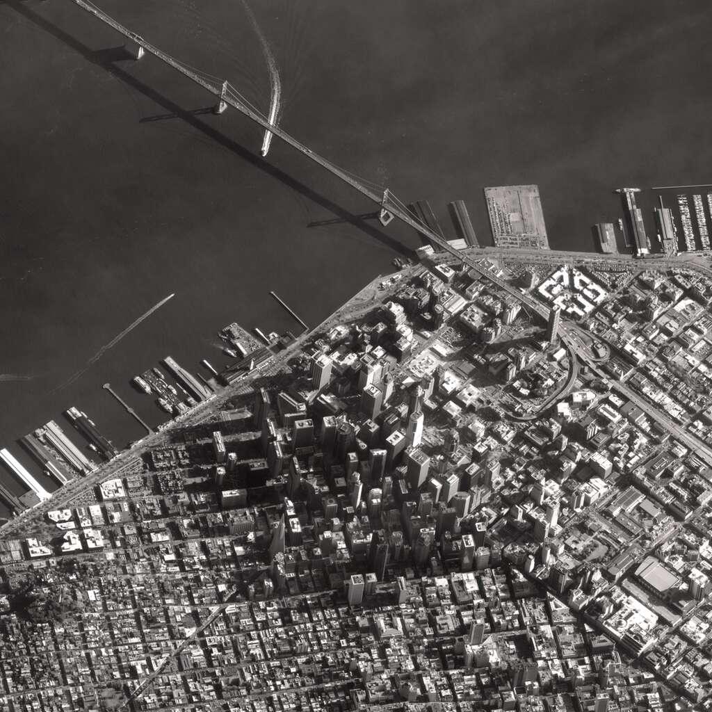 La baie de San Francisco. © Cnes/Astrium Geo-Information Services