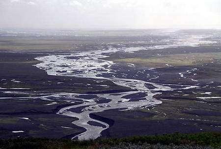 Paysage à Skeiðarársandur. © Wikipédia