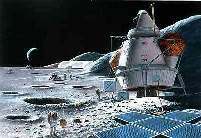 Si nous souhaitons installer une base durable sur notre satellite, il faudra prendre en compte les tremblements de Lune... (Crédits : NASA)