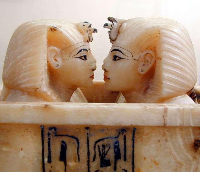 Vases canopes de Toutânkhamon