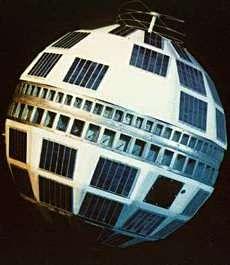 Telstar 1. Crédit Nasa