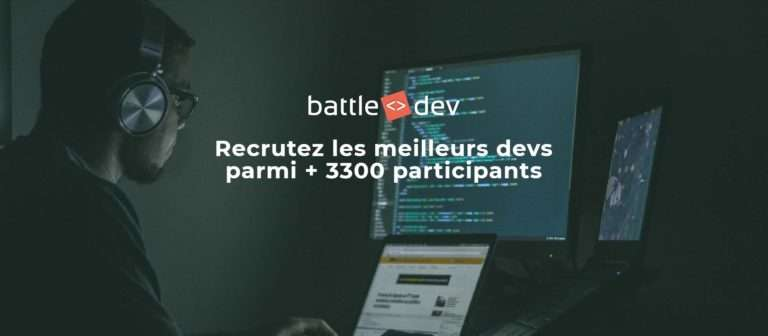 Battle Dev, une compétition ludique, pour le prestige de l'école, pour rechercher un emploi ou tout simplement pour un challenge quasiment sportif. © BDM