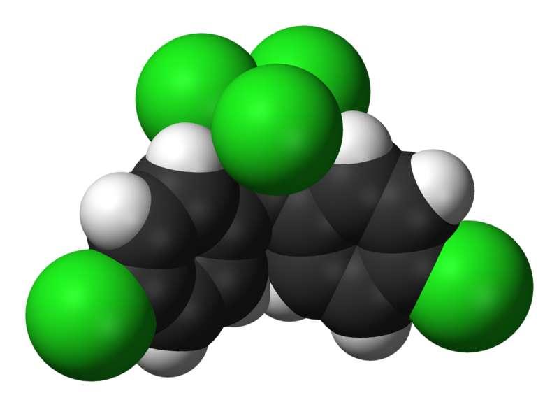 Bien que la découverte des propriétés insecticides du DDT aient permis à Paul Hermann Müller d'être le lauréat du prix Nobel de médecine en 1948, le DDT est aujourd'hui considéré comme toxique et son utilisation est interdite en Europe. Crédits DR.