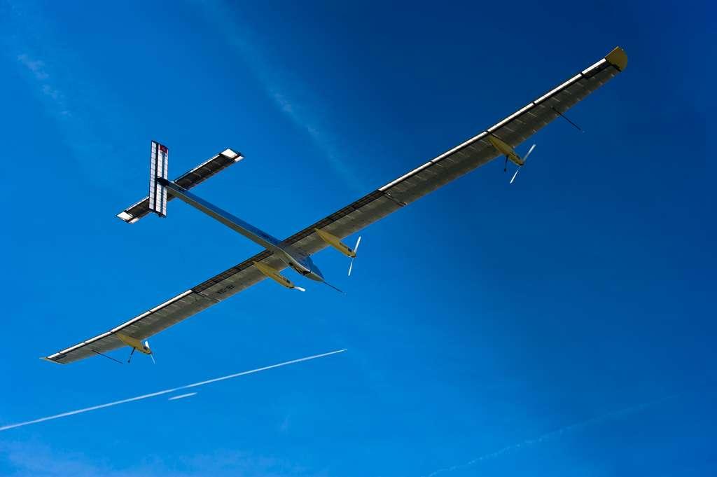 Solar Swiss Flight4 Zurich. © Solar Impulse/Revillard