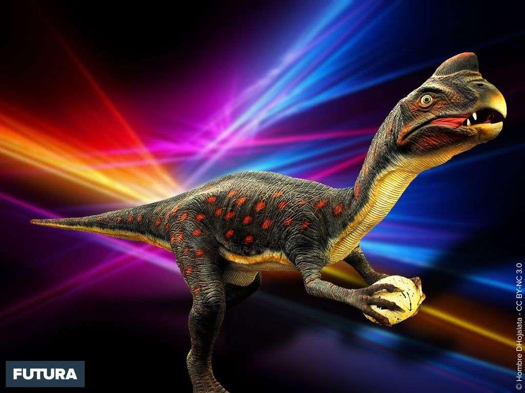 Oviraptor, dinosaure théropode de Mongolie
