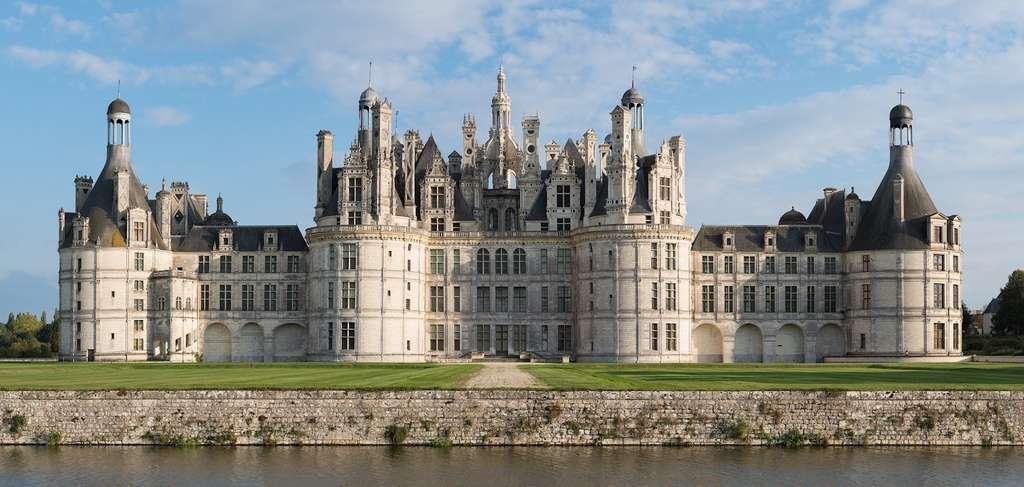 Le château de Chambord, une étape du road trip sur la route nationale 751. © skeeze, Pixabay License
