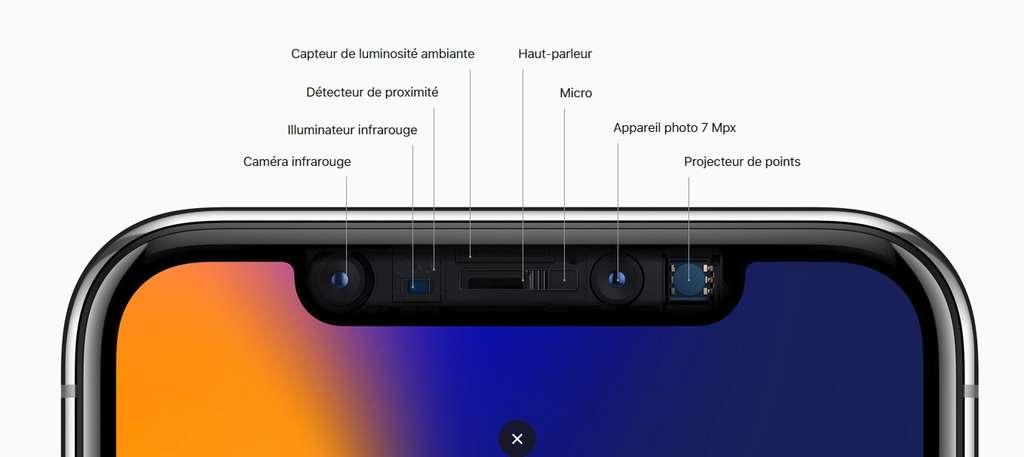 C'est le micro qui se charge d'enregistrer la musique, puis d'en extraire les données transférées et de les décoder pour l'utilisateur. © Apple