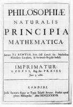 Newton énonce ses « trois principes de la mécanique » dans ses Principes mathématiques de philosophie naturelle, publiés en 1686. © DR
