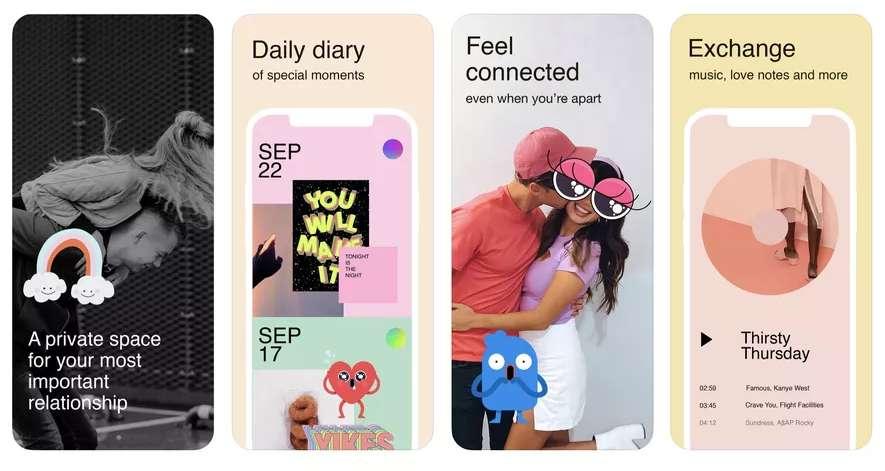 Un réseau social... pour deux. Il fallait y penser ! © NPE Team