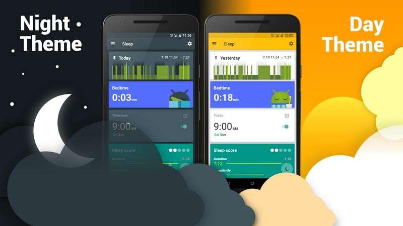 Sleep as Android dispose d'un grand nombre de fonctions avancées et d'un outil de suivi du sommeil efficace. © Urbandroid