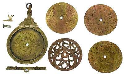 Astrolabe démonté