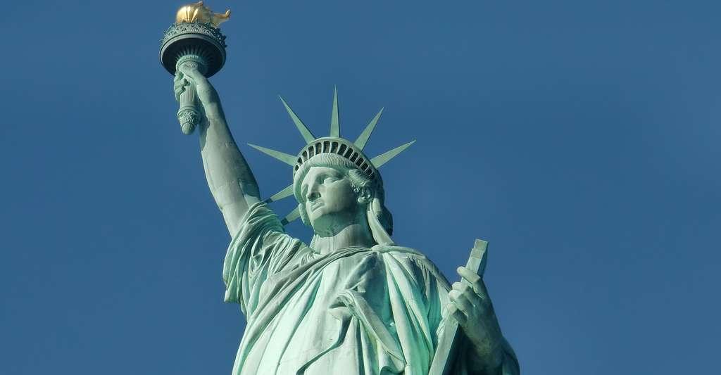 La statue de la liberté, créee par Frédéric Auguste Bartholdi. © Rzdigger, Pixabay, DP