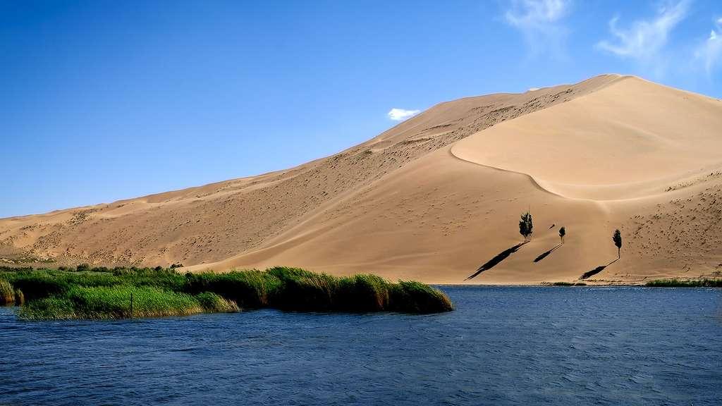 Chine, le désert des lacs mystérieux