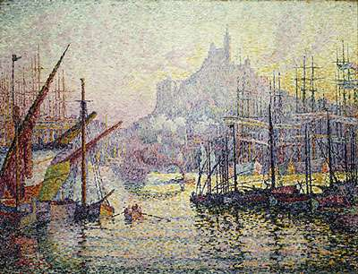 Paul Signac - Le Port de Marseille