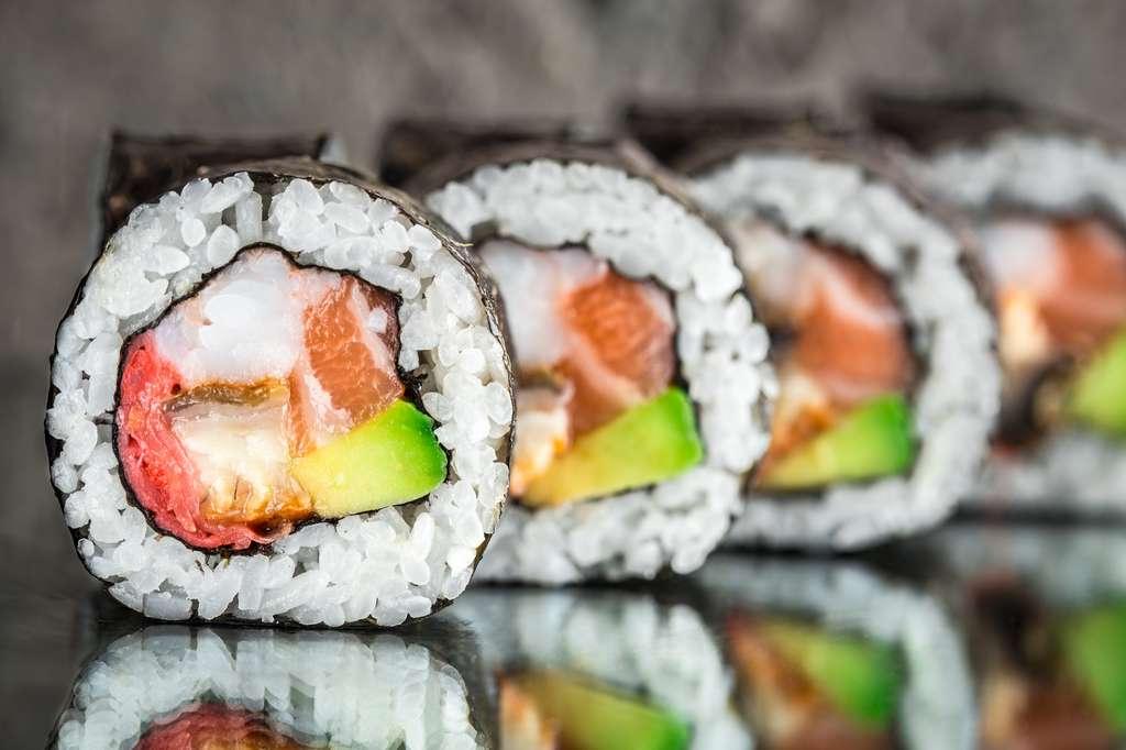 Un menu sushis est plus calorique qu'un Big Mac avec ses frites. © Vankad, Fotolia